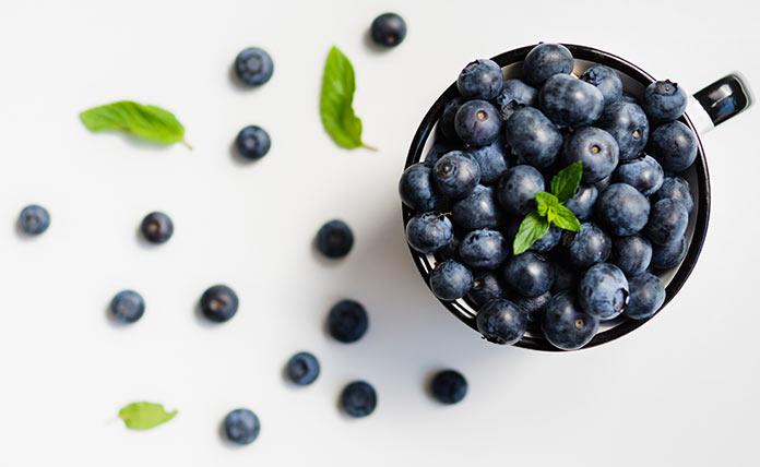 make blue organic holi colour