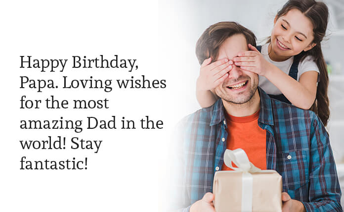 birthday greetings for father