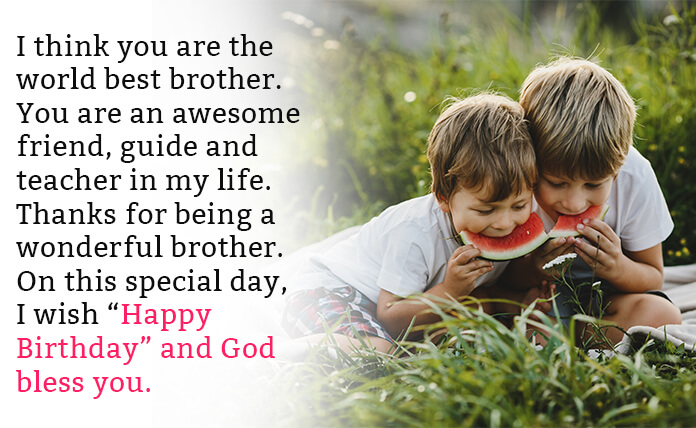 heart touching birthday wishes for brother