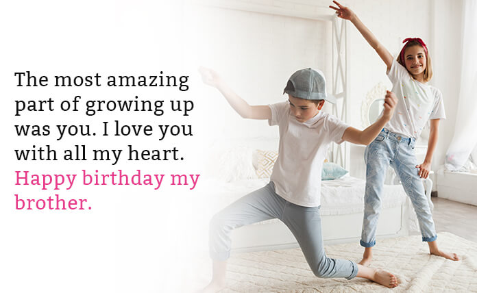 brother birthday wishes in english