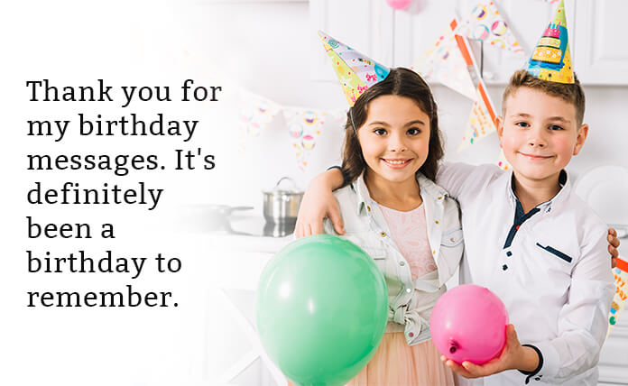 best reply or thank you message for birthday wishes