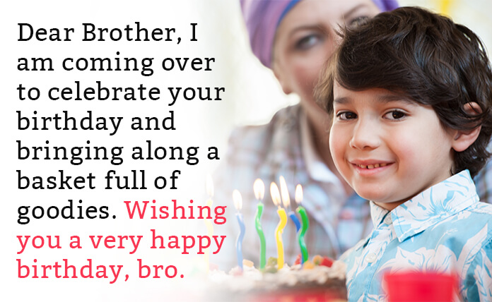 Best birthday wishes for little brother