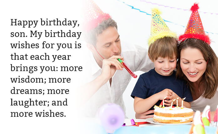 Birthday Sayings for Son
