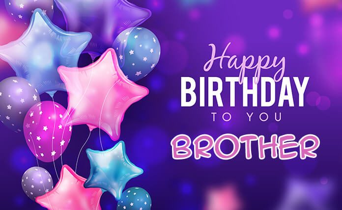 Happy Birthday Wishes For Brother Quotes And Greetings Images Status