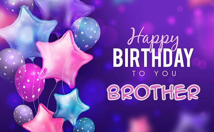 Brilliant Happy Birthday Wishes For Brother Quotes And Greetings Images Personalised Birthday Cards Bromeletsinfo