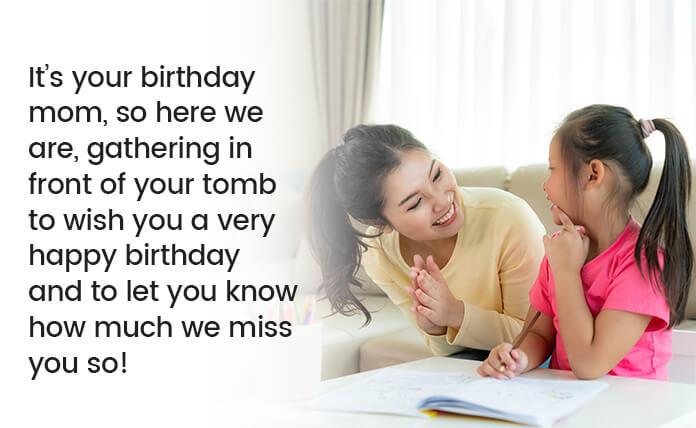 Happy Birthday in Heaven Mother