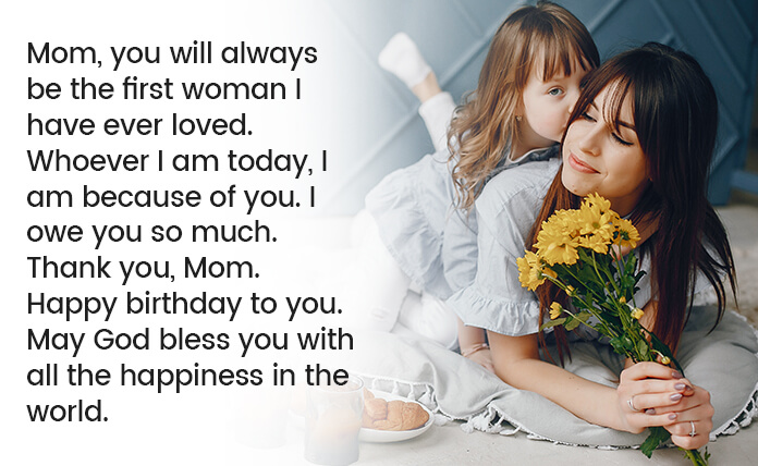 happy birthday mom messages
