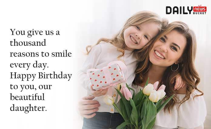 Happy Birthday Quotes to My Daughter
