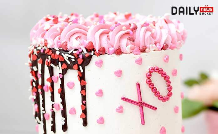 dripping cake image