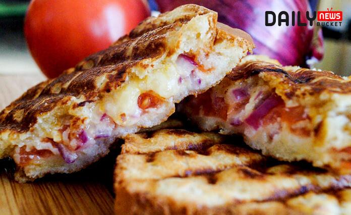 South African Vegetarian Starter Braaibroodjies Recipe