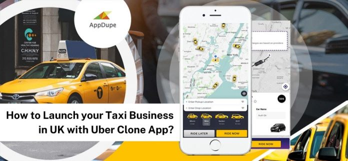 Launch Taxi Business in the UK